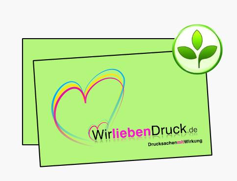 Recycling Visitenkarten Aus 100 Altpapier Günstig Drucken